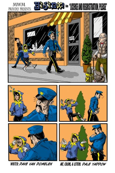 Comics City of titans : Hinjix Page 1