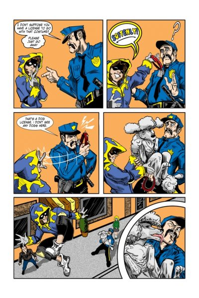 Comics City of titans : Hinjix Page 2