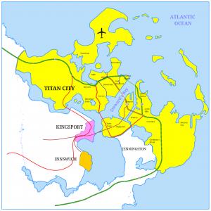 Carte de City of titans
