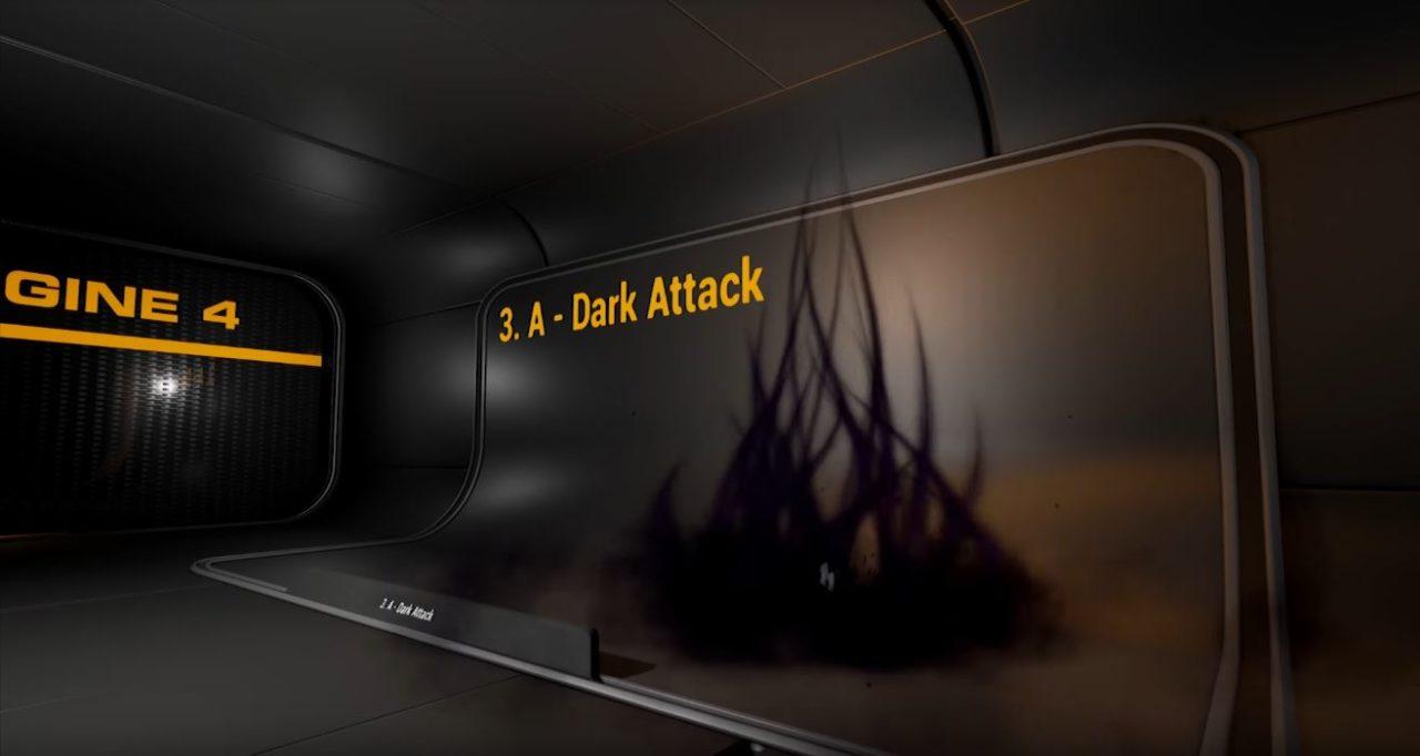 Effets de pouvoirs Dark par Luos