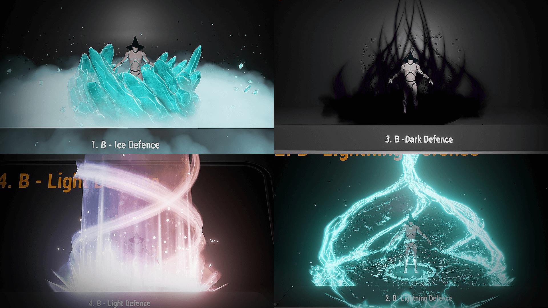Pack de pouvoirs créés par Luos et utilisés dans City of Titans