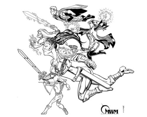 les héros : paragons