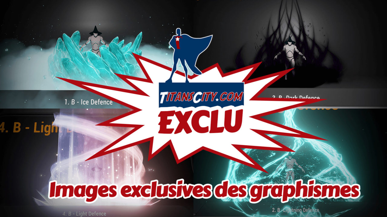 images exclusives des pouvoirs de city of titans