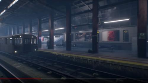 Envrionnement de métro city of titans