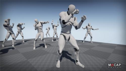 Animation de combat city of titans boxe boxeur mains nues
