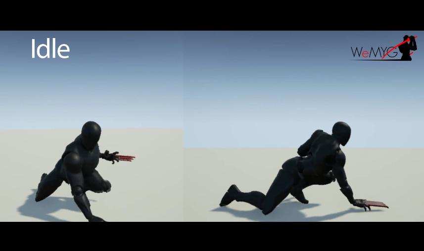 Animations de combat city of titans cat woman