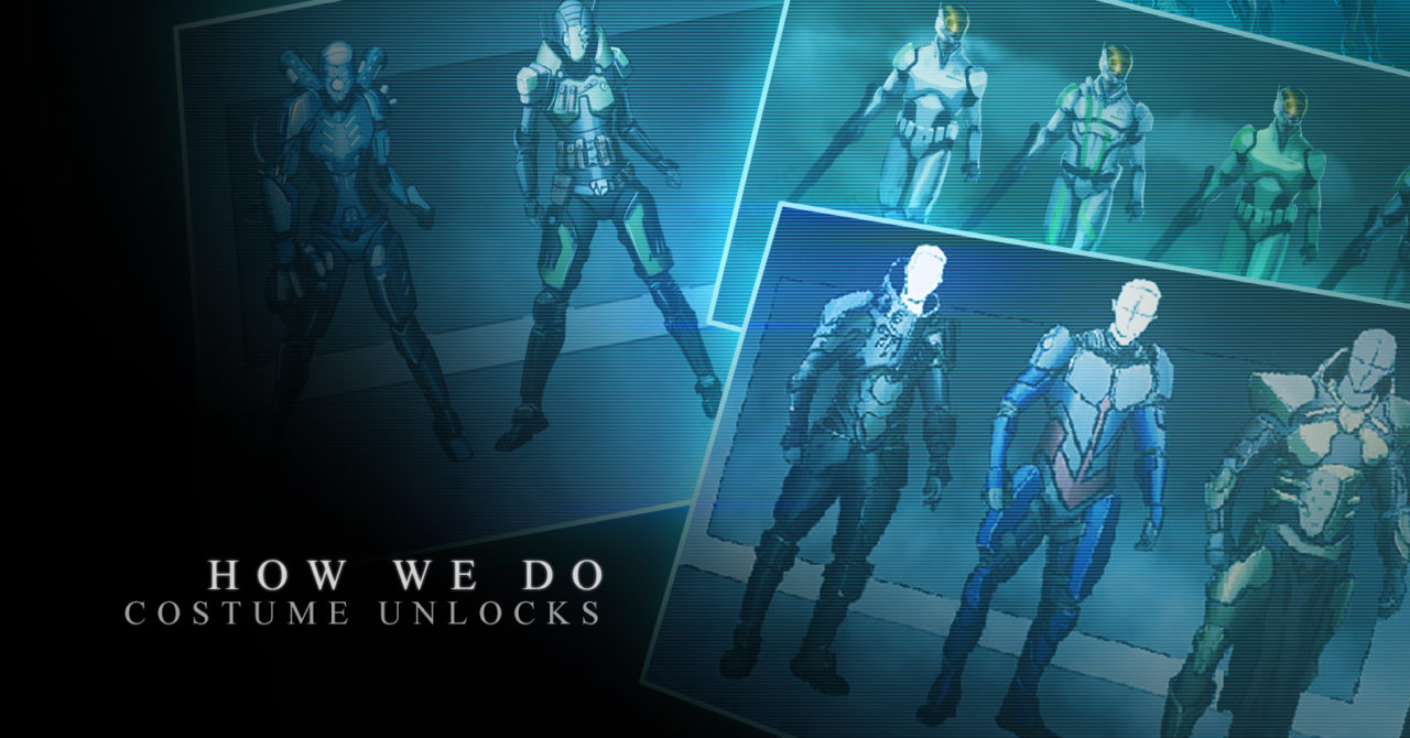 News déblocage elements costumes super hero city of titans