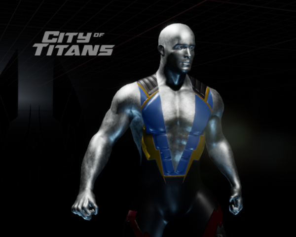News-costume-peau-metal-fer-acier-city-of-titans