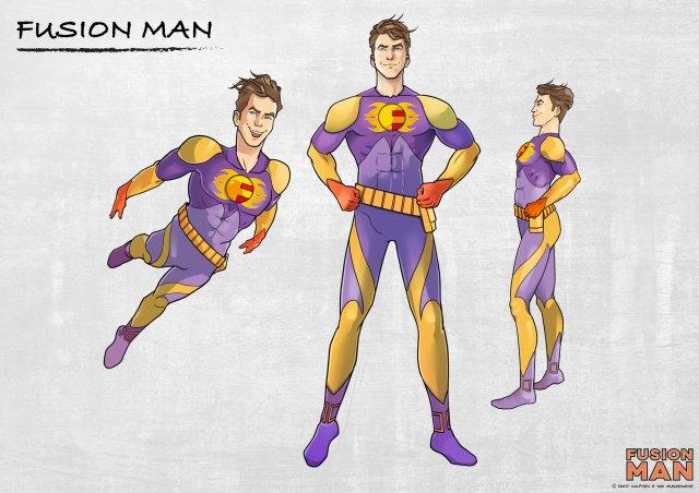 FusionMan : Le super-héro LGBT+