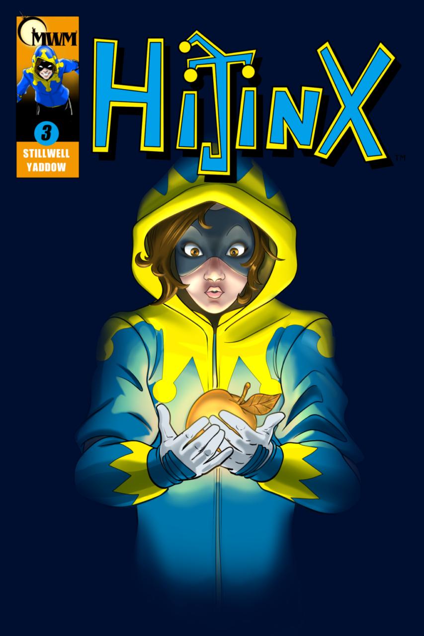 couverture du numéro 3 du comics Hijinx de city of titans