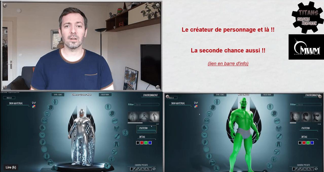 capture d'écran de la vidéo de culture hero geek
