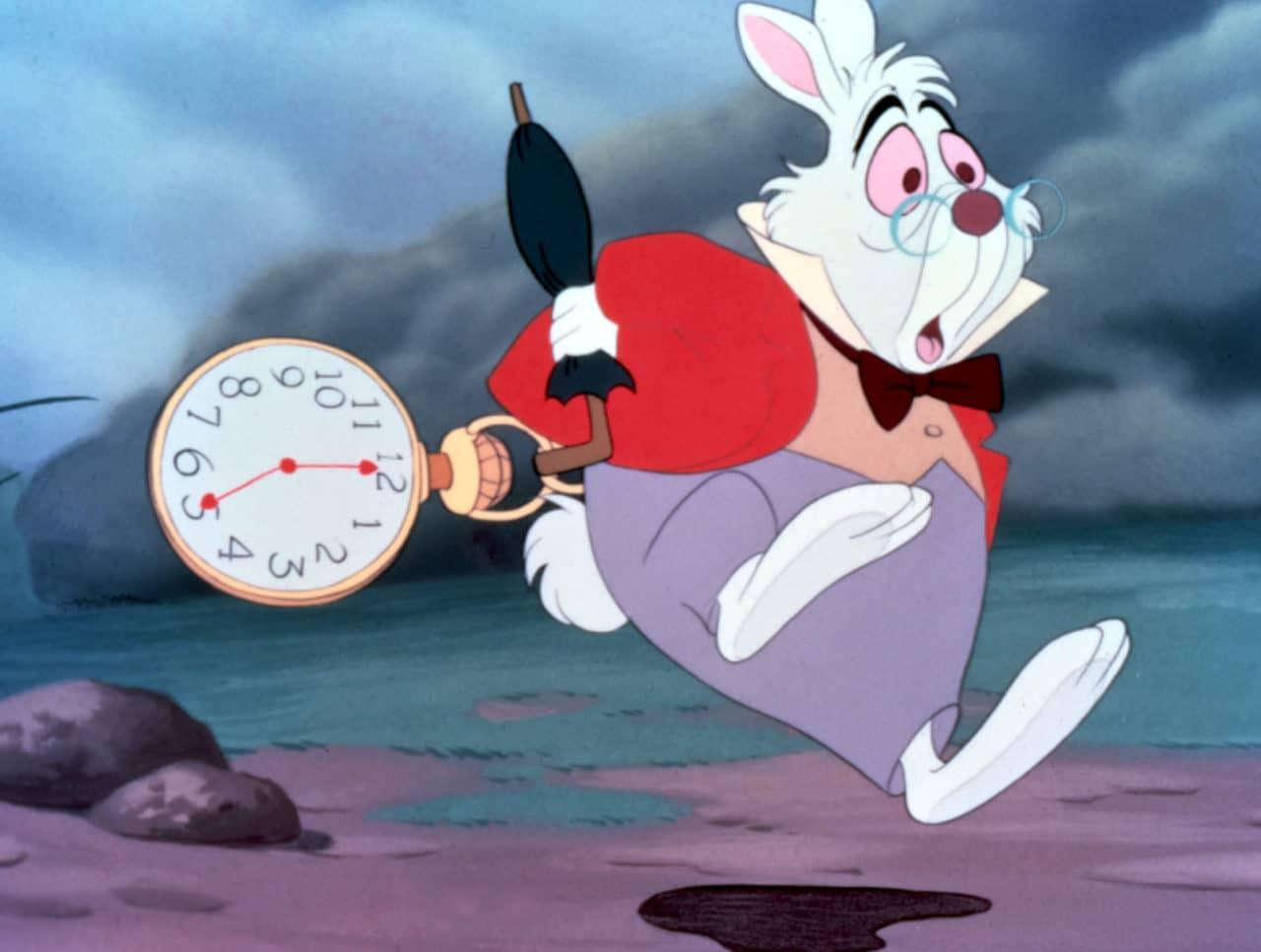 lapin blanc alice au pays des merveilles