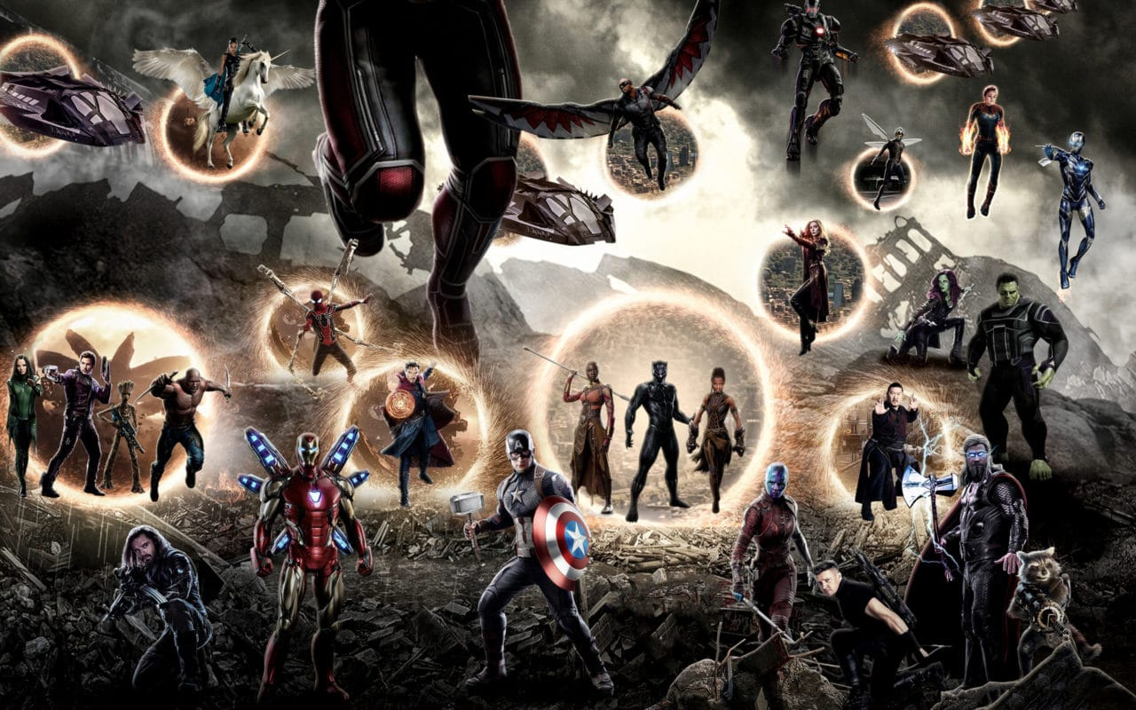montage bataille finale avengers endgame, un canon pour les raids des jeux vidéos