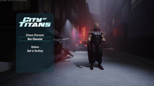 Nouveau menu de city of titans disponible sur mac aussi