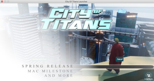 bannière version mac city of titans