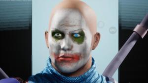 le-joker-vilain-city-of-titans-masque-clown